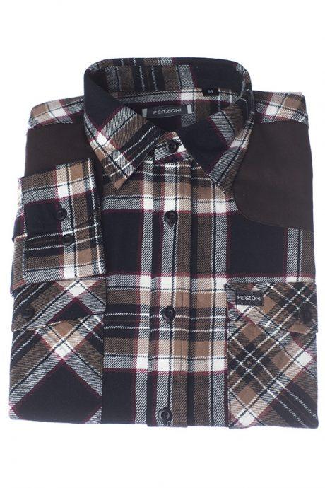 Kraftig flanellskjorta