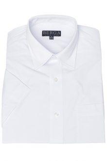 Skjorta kort ärm vit