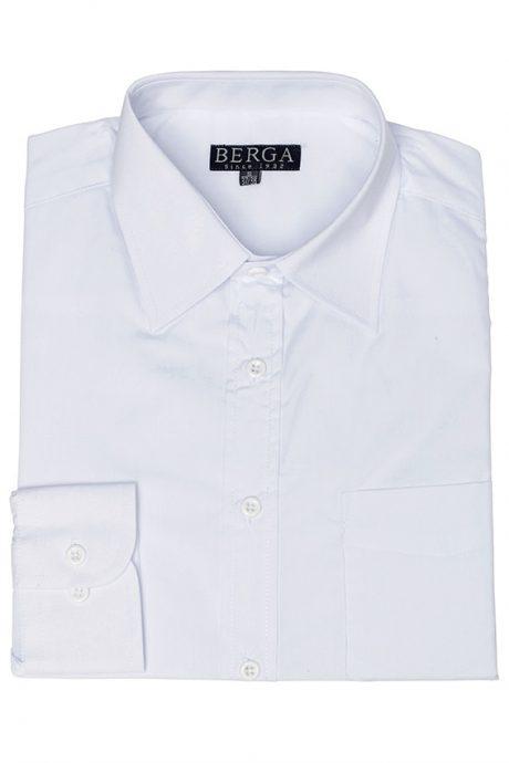 Skjorta lång ärm vit