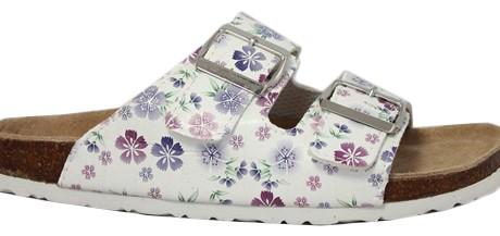 Innetoffel blommig sandal