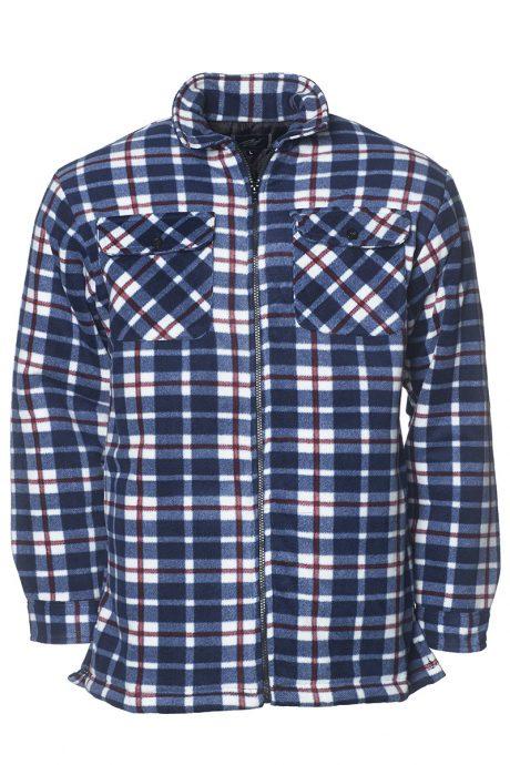 Fodrad flanellskjorta