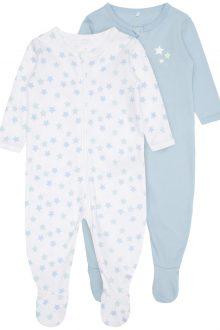 Falkenbergs Netto Heberg Mode Barn Pyjamas Blå 2pack