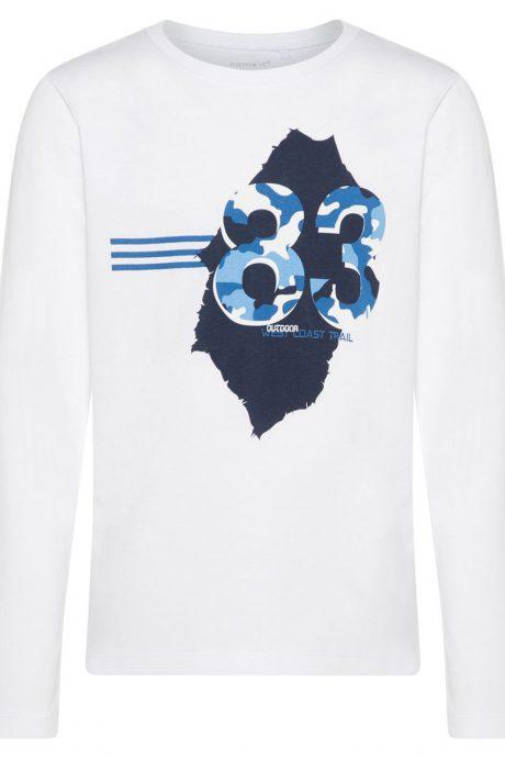 Falkenbergs Netto Heberg Mode Barn Name it Tshirt Vit