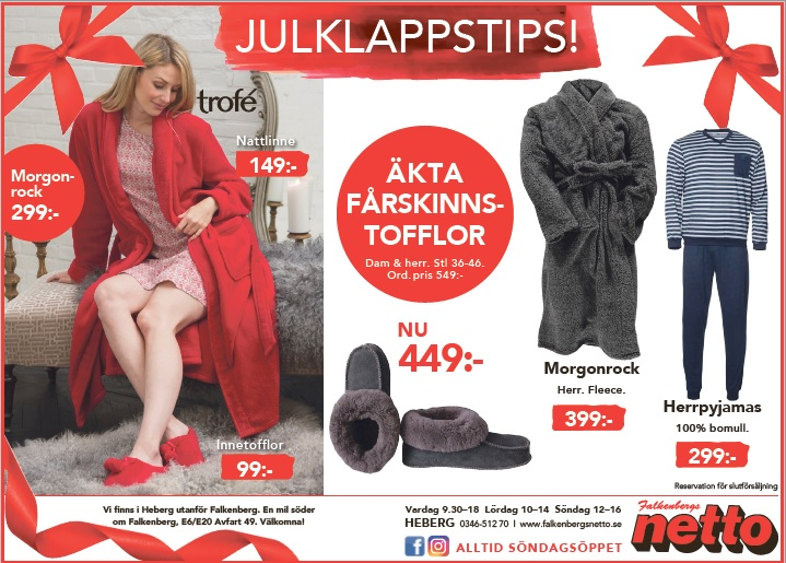 Julklappstips Falkenberg